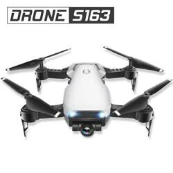 163Fpv Drone 720P Wide Angle Wi Fi HD Cam Foldable RC Mini Quadcopter Helicopter C $58.99