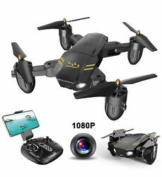 Schark Spark Guard FQ36 Foldable Pocket Drone Wi Fi Control Speed Switch Camera $56.62