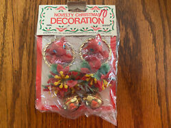 Vintage Novelty Christmas Decoration Made In Hong Kong For McGrory Corp. $13.00