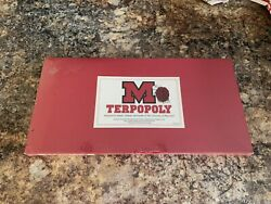 TERPOPOLY 1990 Late For The Sky Game $25.00