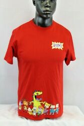 Nickelodeon S S RUGRATS GRAPHIC T SHIRT RED MULTICOLOR NKSNK54 B $17.09