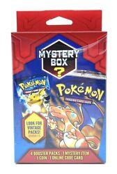1 New Sealed Pokemon Mystery Power Box Walgreens Exclusive Vintage Pack 1:5 $79.95