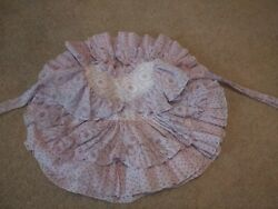 Martha's Miniatures Frilly Purple Party Birthday Dress 3t Vintage Full Circle $400.00