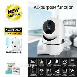 1080P Wireless IP Camera Nanny Camera Indoor Home Smart Wifi Baby Monitor Pet $34.99