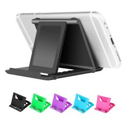 Adjustable Phone Holder Stand Folding Foldable Thin Cradle for Samsung iPhone $2.99