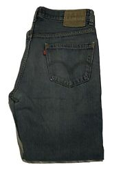 Levi#x27;s 559 Medium Wash Relaxed Straight Fit Men#x27;s Red Tab Jeans Size 34 X 32 $22.99