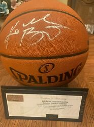 Panini Authentic Rare Full Name Kobe Bryant Autographed Official NBA Basketball $5000.00