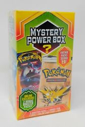 Pokemon Mystery Power Box Vintage Pack 1:5 Fossil Pack? FACTORY SEALED $69.95