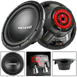 2 Pack Memphis 12quot; Subwoofer 500 Watts Max SVC 4 Ohm Street Reference SRX1240 $179.90