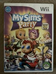 My Sims: Party for Nintendo Wii WII Action Adventure Video Game Brand New. $5.30