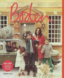 BODEN Women#x27;s amp; Kids#x27; Fashion Catalog Holiday 2020 cute dresses sweaters jackets $21.60