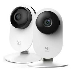 YI 2pc Home Camera 1080p Wireless IP Security Surveillance System Night Vision $36.88