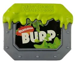 RARE BURP CLIP Burger King Kids Club Nickelodeon Kids Choice Awards 2009 $26.99