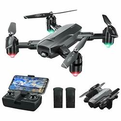 DF01 Foldable Drone with Camera for Adults WiFi FPV Drone with 120° Wide $101.88