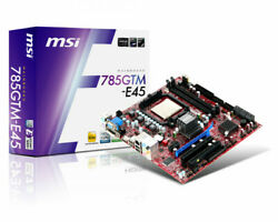MSI Motherboard 785GTM E45 with AMD Athlon II x2 250 w heatsink amp; fan combo $49.00