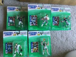 Starting lineup football figures $4.75 or less 1997 1998 1999 $4.00