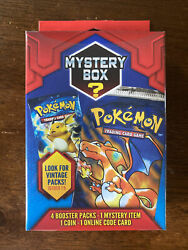 1 New Sealed Pokemon Mystery Power Box Walgreens Exclusive Vintage Pack 1:5 $75.00