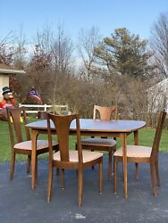 Mid Century MCM Broyhill Brasilia Dining Room Table And 5 Chairs $1575.00