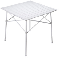 ALPS MOUNTAINEERING CAMP TABLE SILVER NEW OPEN BOX CAMPING TAILGATING $69.00