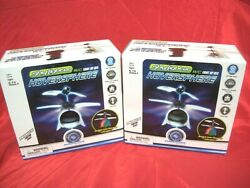 New Pair LED Sky Lighter Remote Control Toy Helicopter RC Mind scope Hoversphere $24.95