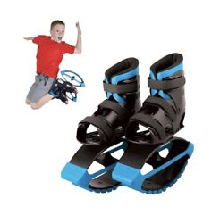 Blue Madd Gear Boosters Bouncing Boots Kangaroo Jumping Shoes Size 3 6 $46.49