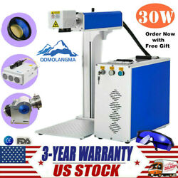 US 30W Split Fiber Laser Machine Marking Metal Laser Engraver with software FDA $3997.51