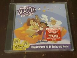 THE PROUD FAMILY SOUNDTRACK RARE CD VARIOUS ARTISTS NEW SEALED DISNEY $22.99