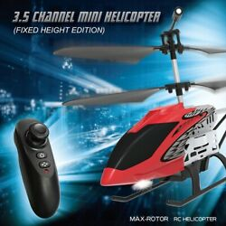 Helicopter Metal Mini RC Drone RC Helicopter 3.5 CH One key Flight helicoptero O $31.70