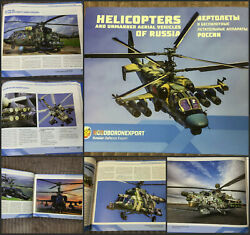 ROSOBORONEXPORT Helicopters and unmanned aircraft of Russia. Air Force Russia. $114.99