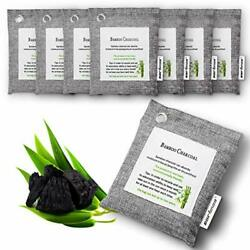 8 Pack Air Purifying Bag Nature Fresh Style Charcoal Bamboo Purifier Mold Odor $30.26