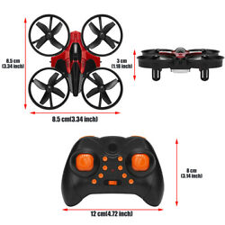 USA Mini RC Drone Remote Control Nano Quadcopter 3D Flip Boys Kids Toys RC Nano $20.55