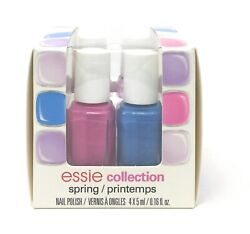 Essie Spring Collection Mini Kit 4pc x 5ml .16 fl. oz. NEW $6.99