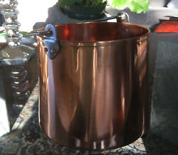 Russian Copper Bucket Can Serve As Wine Chiller $25.00