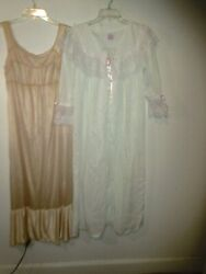 Vintage Long Maternity Nightgown Robe amp; Berkliff nightgown size S 32 34 $15.00
