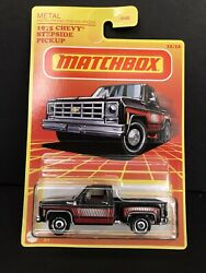 2020 Matchbox Retro 12 12 Target Exclusive 1975 CHEVY STEPSIDE PICKUP BOX SHIPS $7.95
