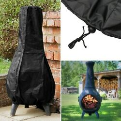 Chiminea Cover Protector Sun Dust Wind Waterproof Outdoor Large BBQ Accessory $17.93