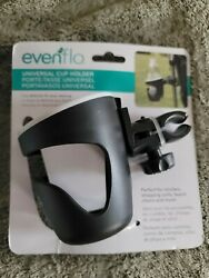 Evenflo New Universal Cup Holder For Strollers And More Black $14.99
