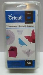 Cricut Cartridge Events Tablescapes Spring $ Summer Up to 50 images Sealed Wear $27.49