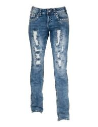 Cowgirl Tuff Western Jeans Womens Avalanche II Bootcut Med Wash JAVLII $119.94