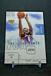 KOBE BRYANT SKYBOX L.E. SKY#x27;S THE LIMIT INSERT LOS ANGELES LAKERS HOF SEE PHOTO $24.08