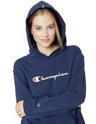 Champion Women#x27;s Midweight Jersey Pullover Hoodie $24.99
