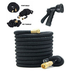 Stronger Deluxe Expandable Flexible Garden Water Hose 25ft With Nozzle Sprayer $16.99