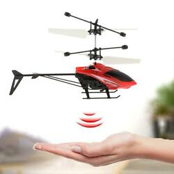 Children RC Flying Ball Toys Induction Helicopter Outdoor Game $9.93