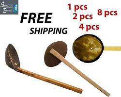 Coconut Shell Spoon NATURAL Kitchen Tools Equipment Ceylon FREE Shipping $6.89
