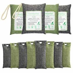 Air Purifying Bag Purifier Nature Fresh Charcoal Bamboo Mold Freshener 12 Bags $21.24