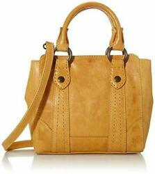 NWT $278 WOMEN FRYE MELISSA MINI TOTE CROSSBODY ONE SIZE SUNFLOWER $134.99