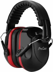 Noise Reduction Ear Muffs NRR 28dB Shooters Hearing Protection Headphones Red $15.99