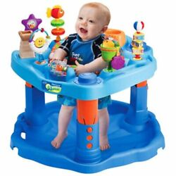 Evenflo Exersaucer Mega Splash Activity Center 4 To 6 Months Landscaped Tray NEW $66.65
