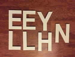 large wooden wall letters $9.00