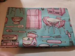 WHAT#x27;S COOKIN Cooking Kitchen for RJR Fabrics 12quot; x 44quot; $3.99